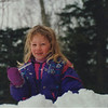 "Feb. 1994 in Vermont, enjoying an ice ""pop""."