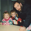 Christmas 1992 with Brett & dad