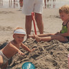 1991, 3 yrs old with Mom Mom & Brett in Ocean City