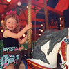 Casey on the merry go round at Storybook Land in 1992. Age 4.