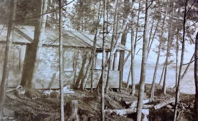 Frank's cabin #10,  1937