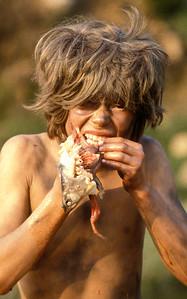 Cave kid, 1979.