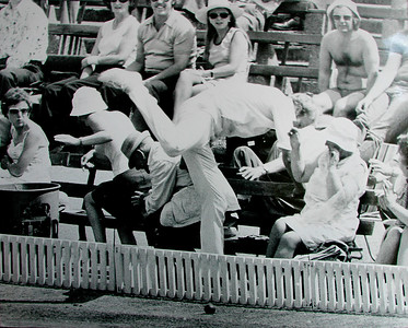 Cricket mishap 1978.