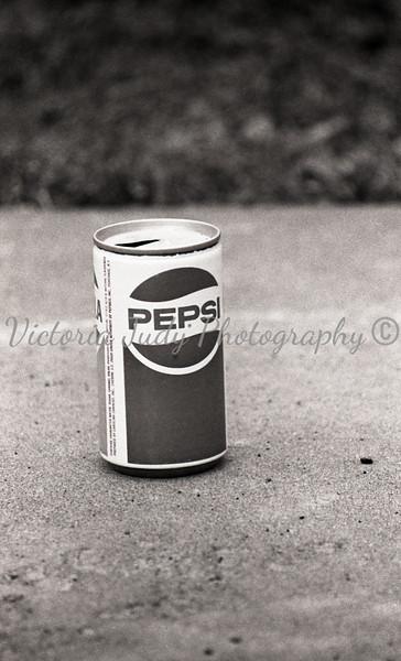 Vintage Pepsi Rule Of Thirds