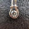 0.46ctw Forever Mark Diamond Drop Earrings 18