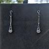 0.46ctw Forever Mark Diamond Drop Earrings 4