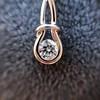 0.46ctw Forever Mark Diamond Drop Earrings 7