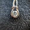 0.46ctw Forever Mark Diamond Drop Earrings 6