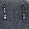 0.46ctw Forever Mark Diamond Drop Earrings 12
