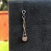 0.46ctw Forever Mark Diamond Drop Earrings 15