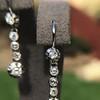 1.18ctw Vintage Old European Cut Diamond Buttercup Drop Earrings 15
