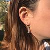 1.18ctw Vintage Old European Cut Diamond Buttercup Drop Earrings 5