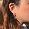 1.18ctw Vintage Old European Cut Diamond Buttercup Drop Earrings 6