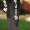 1.18ctw Vintage Old European Cut Diamond Buttercup Drop Earrings 14