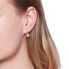 1.19ctw French Old European Cut Diamond Ear Pendant 1