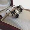 1.20ctw Victorian Rose Cut Diamond Drop Earrings 13
