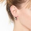 1.20ctw Victorian Rose Cut Diamond Drop Earrings 1