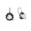 1.20ctw Victorian Rose Cut Diamond Drop Earrings 0