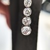 1.39ctw Art Deco Old European Cut Diamond Conversion Drop Earrings 14