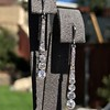 1.39ctw Art Deco Old European Cut Diamond Conversion Drop Earrings 17