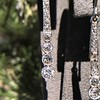 1.39ctw Art Deco Old European Cut Diamond Conversion Drop Earrings 11