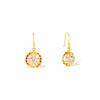 1.45ctw Victorian Cluster Old Mine Cut Dangle Earrings 4
