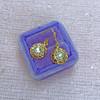 1.45ctw Victorian Cluster Old Mine Cut Dangle Earrings 10