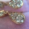 1.51ctw Diamond Mosaic OEC Dangle Earrings 27