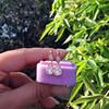 1.51ctw Diamond Mosaic OEC Dangle Earrings 7