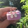 1.51ctw Diamond Mosaic OEC Dangle Earrings 12