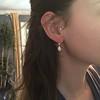1.51ctw Diamond Mosaic OEC Dangle Earrings 35