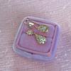 1.51ctw Diamond Mosaic OEC Dangle Earrings 25