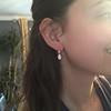1.51ctw Diamond Mosaic OEC Dangle Earrings 34