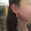 1.51ctw Diamond Mosaic OEC Dangle Earrings 36