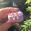 1.51ctw Diamond Mosaic OEC Dangle Earrings 10