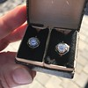 1.65ctw Old European Cut Diamond Dormeuse Earrings 12