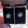 1.65ctw Old European Cut Diamond Dormeuse Earrings 10