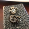 1.65ctw Old European Cut Diamond Dormeuse Earrings 13