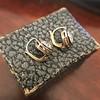 1.65ctw Old European Cut Diamond Dormeuse Earrings 1