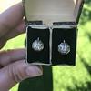 1.65ctw Old European Cut Diamond Dormeuse Earrings 18