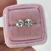 1.72ctw Old European Cut Diamond Stud Earrings 28