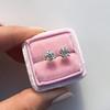 1.72ctw Old European Cut Diamond Stud Earrings 17
