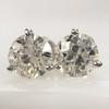1.72ctw Old European Cut Diamond Stud Earrings 0