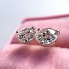 1.72ctw Old European Cut Diamond Stud Earrings 11