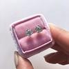 1.72ctw Old European Cut Diamond Stud Earrings 18