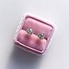 1.72ctw Old European Cut Diamond Stud Earrings 14