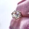 1.72ctw Old European Cut Diamond Stud Earrings 10