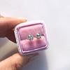 1.72ctw Old European Cut Diamond Stud Earrings 16