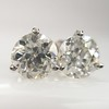 1.72ctw Old European Cut Diamond Stud Earrings 25