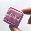 1.72ctw Old European Cut Diamond Stud Earrings 8